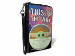 "The Mandalorian The Child ""This is The Way"" Zip Around Wallet"