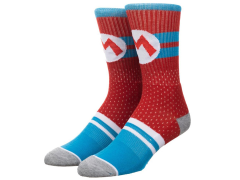 Super Mario Mesh Athletic Crew Socks