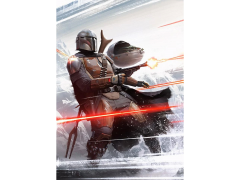 Star Wars The Mandalorian and the Child Limited Edition Lithograph
