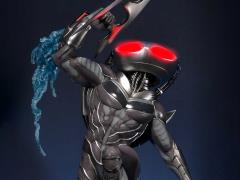 Injustice 2 Premium Masterline Black Manta 1/4 Scale Statue
