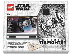Star Wars Lego Tie Fighter Notebook and Pen Recruit Bag