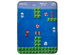 Super Mario Coral Fleece Throw