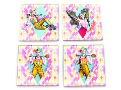 Birds of Prey Harley Quinn Coaster Set