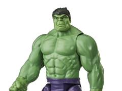 Marvel Avengers Titan Hero Series Blast Gear Deluxe Hulk Figure