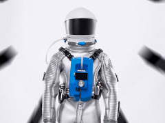 2001: A Space Odyssey 1/6 Scale Limited Edition Clavius Astronaut Suit
