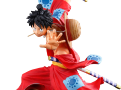 One Piece World Figure Colosseum 3 Super Master Stars Piece Monkey D. Luffy