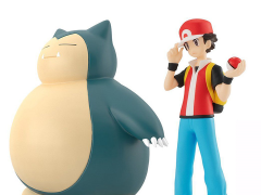 Pokemon Scale World Red & Snorlax Two-Pack With Poke Flute