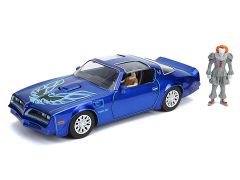 IT Chapter Two Hollywood Rides Pennywise & Henry Bower's Pontiac Firebird 1/24 Scale Vehicle