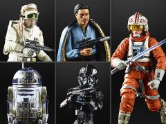 "Star Wars 40th Anniversary The Black Series 6"" Wave 28 Set of 5 Figures"