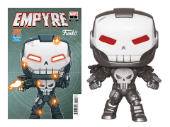 Pop! Marvel: Punisher War Machine PX Previews Exclusive With Limited Edition Comic