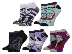 The Nightmare Before Christmas Ankle Socks Five-Pack