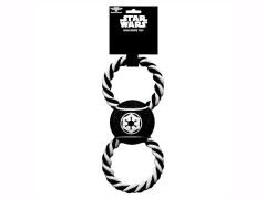 Star Wars Galactic Empire Rope Tennis Ball Dog Toy