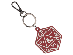 Dungeons & Dragons Dice Keychain