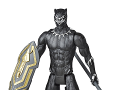 Marvel Avengers Titan Hero Series Blast Gear Deluxe Black Panther Figure