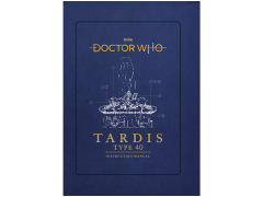 Doctor Who Tardis Type Forty Instruction Manual