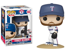 Pop! MLB: Rangers - Corey Kluber
