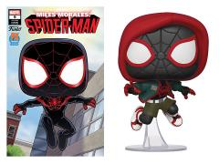 Pop! Marvel: Spider-Man: Into the Spider-Verse - Miles Morales (Casual) PX Previews Limited Edition Exclusive (With Comic)