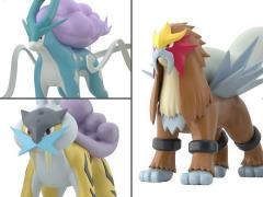 Pokemon Scale World Raikou, Entei & Suicune Three-Pack