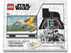 Star Wars Lego Naboo Fighter Notebook and Pen Recruit Bag