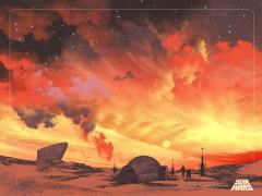 Star Wars Binary Sunset Limited Edition Lithograph