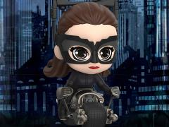 The Dark Knight Trilogy Cosbaby Catwoman with Bat-Pod