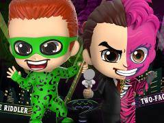 Batman Forever Cosbaby The Riddler & Two-Face Two-Pack