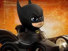 Batman (1989) Cosbaby Batman With Batmobile
