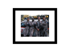 Ghostbusters The Ghostbusters & Ecto-1 Limited Edition Framed Art Print
