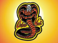 The Karate Kid Cobra Kai Fire Enamel Pin