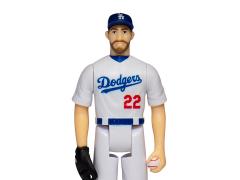 MLB Baseball Superstars ReAction Clayton Kershaw (Los Angeles Dodgers) Figure