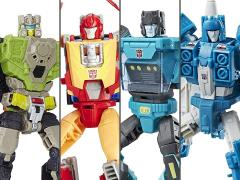 Transformers Titans Return Deluxe Wave 4 Set of 4 Figures