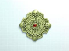 Dungeon Master Pin (Antique Bronze)