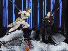 Star Wars: The Black Series Centerpiece Rey & Kylo Ren (Starkiller Base) SDCC 2018 Exclusive