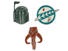 Star Wars Boba Fett Pin Set
