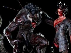 The Creepy Monsters Lycan 1/4 Scale Limited Edition Statue