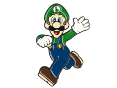 Super Mario Hello Luigi Pin