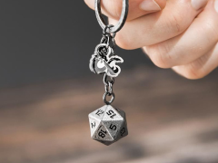 Dungeons & Dragons D20 Keychain