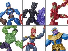 Marvel Avengers Bend and Flex Set of 6 Figures