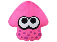 Splatoon Pink Inkling Squid Pillow