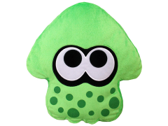 Splatoon Green Inkling Squid Pillow