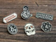 Dungeons & Dragons Set of 6 Enamel Pins