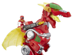 "Power Rangers Heroes Red Ranger & Dragon Thunderzord 14"" Action Figure Set"