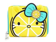 Hello Kitty Lemon Zip Around Wallet