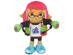 "Splatoon Inkling Girl Pink 9"" Plush"