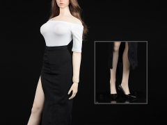 Women's Dress Suit 2.0 (White) 1/6 Scale Accessory Set