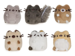 "Pusheen I love Kitties 2"" Plush Collector Set"