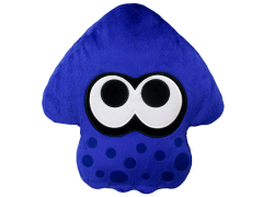 Splatoon Blue Inkling Squid Pillow