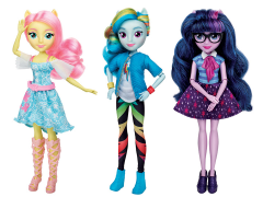 My Little Pony Equestria Girls Set of 3 Figures