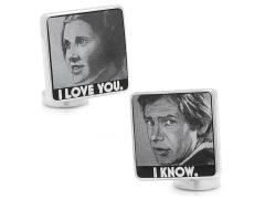 """Star Wars """"I love you, I know"""" Cufflinks"""