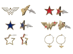 DC Comics Wonder Woman Fashion Earring Six-Pack